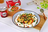 #夏日撩人滋味#红油皮蛋豆腐的做法