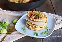 无油健康鸡肉饼#MEYER#焕新厨房.唤醒美味#的做法