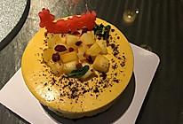 芒果慕斯流心蛋糕的做法