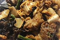 泡菜炖牛肉的做法