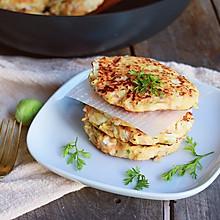 无油健康鸡肉饼#MEYER#焕新厨房.唤醒美味#