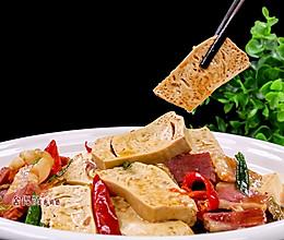 很多人不知道豆腐这样做比肉都好吃, 特别入味的做法