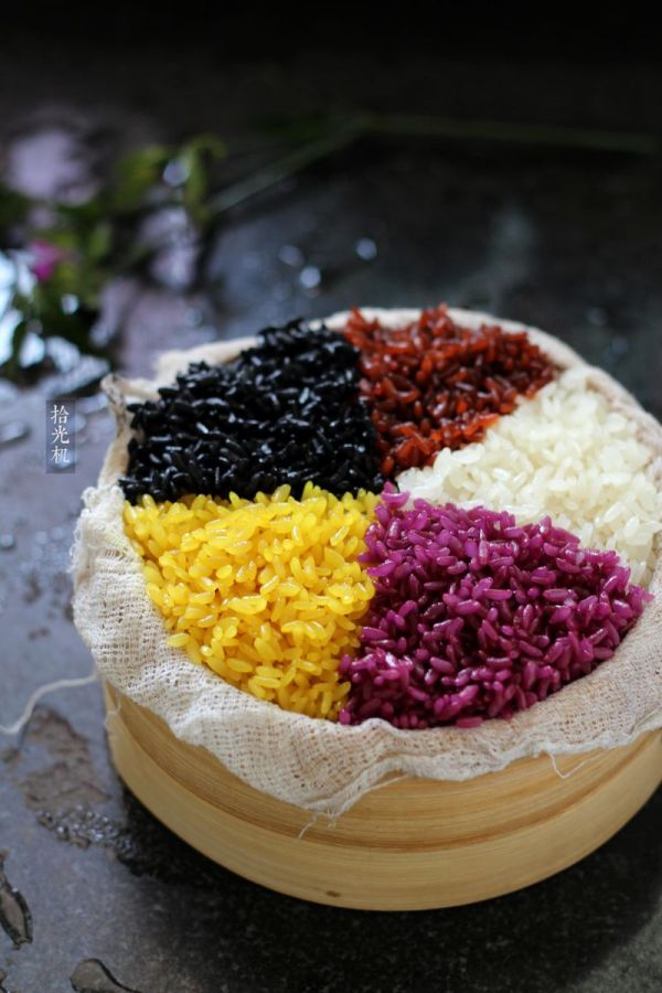 解密壮族天然五色糯米饭做法的做法