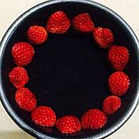 草莓冻芝士6寸的做法图解3