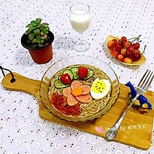花式荞麦冷面#我的品道美食#