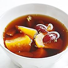 红糖姜茶煮番薯|冬季暖饮