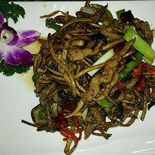 小炒茶树菇