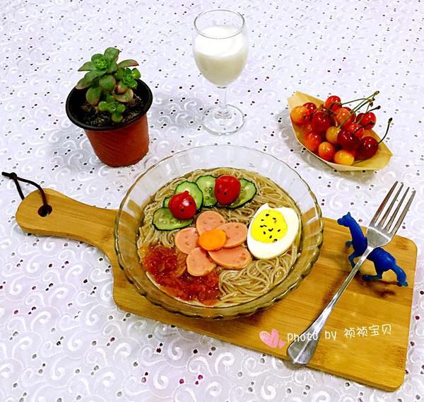 花式荞麦冷面#我的品道美食#的做法