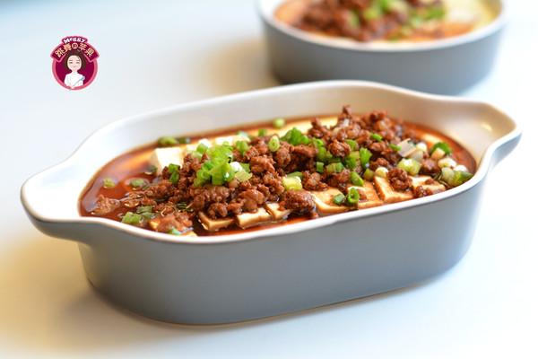 肉末蒸鸡蛋豆腐的做法
