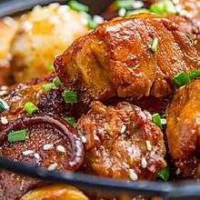 蒜头鸡肉煲