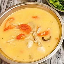 西红柿(蕃茄)杂菇鱼汤