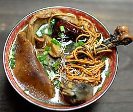 虫草花白牛肝菌炖乌鸡的做法
