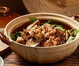 【生啫鱼头煲】鱼头烧的啫啫叫,广东第一煲!的做法