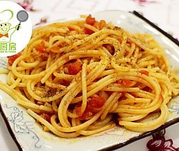 异域风味、番茄肉酱意粉--威厨艺的做法