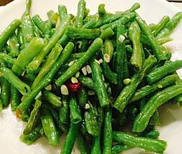 素炒长豇豆的做法