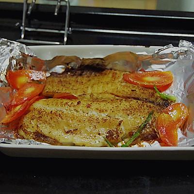 煎烤鲷鱼柳(罗非鱼柳)