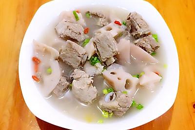 排骨莲藕养生汤