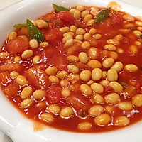 番茄烩黄豆的做法图解7
