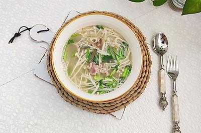 秋冬家常菜~羊杂汤