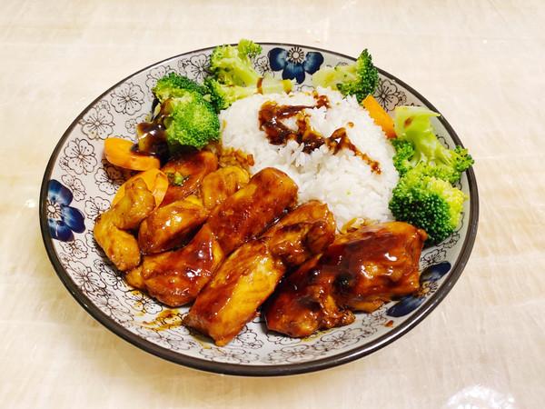 ㊙️照烧鸡肉饭-简单零失败❗️的做法