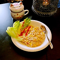 減肥餐 玉米咸麦片的做法图解7