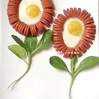 火腿太阳蛋—— 火腿肠煎蛋(内附心形煎蛋的做法)