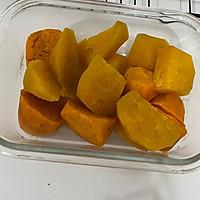 #橄榄中国味 感恩添美味#红薯芝士球的做法图解2