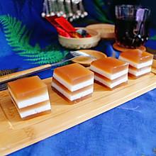 今日茶食丨普洱椰香马蹄糕