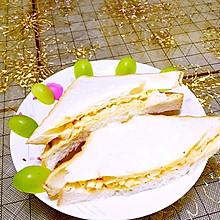 鸡蛋三明治#丘比沙拉汁#
