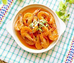 吮指焖大虾#我要上首页下饭家常菜#的做法