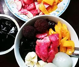 水果冰稀饭的做法