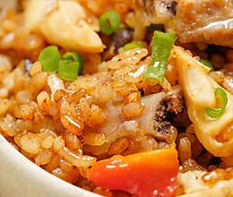 电饭煲春笋排骨焖饭的做法