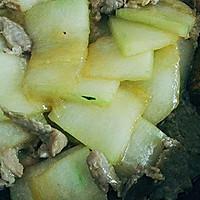 夏天必吃的~冬瓜炒肉的做法图解5