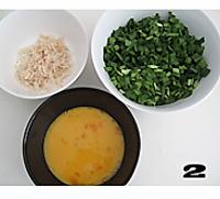 韭菜鸡蛋馅饼的做法图解2