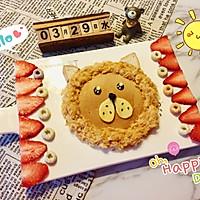 儿童早餐—狮子吐司的做法图解10
