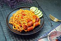 通心肠番茄意面#一机多能,一席饪选#的做法