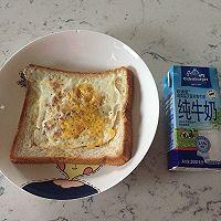 面包片煎蛋