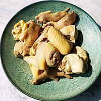 #餐桌上的春日限定#春笋鲜鸡汤的做法图解3