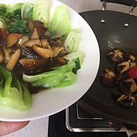 蚝油香菇青菜#人人能开小吃店#的做法图解11