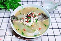 冬瓜薏仁鲫鱼汤的做法