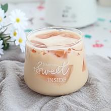 珍珠奶茶草莓冻