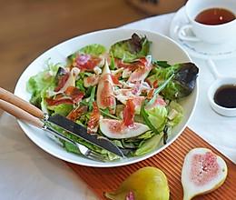 健身食谱|无花果火腿片色拉,吃出春天的气息#硬核菜谱制作人#的做法