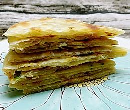 葱油薄饼的做法