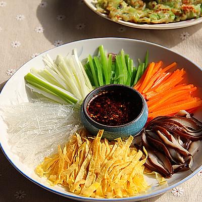 山东-年夜饭必备-凉拌五色丝