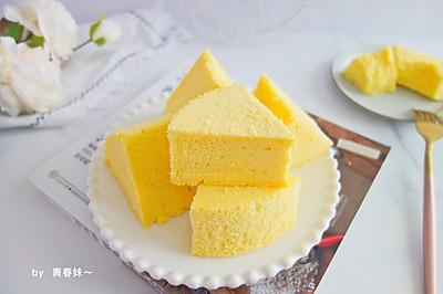酸奶蒸蛋糕