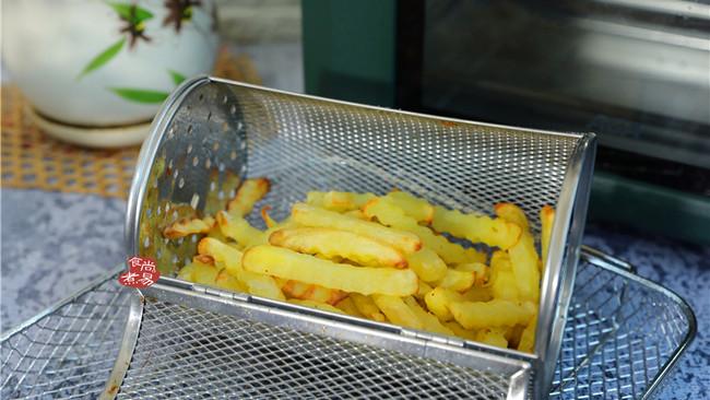 黑椒味炸薯条的做法