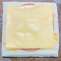 #一人一道拿手菜# 培根三明治的做法图解7