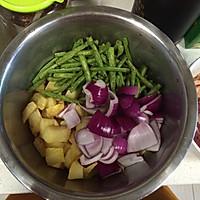 干锅肥肠牛肉的做法图解3