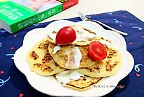 【豆浆豆渣松饼】#黑人牙膏一招制胜#的做法