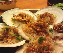 蒜蓉粉丝蒸扇贝——最惹味的扇贝的做法
